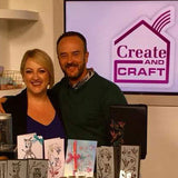 We appear on Create and Craft TV
