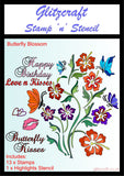 Butterfly Blossom Stamp and Stencil Set