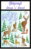 Deer Stamp and Stencil A5 Stamp set