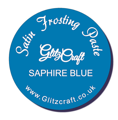 Saphire Blue Satin Paste