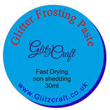 Aqua Blue Frosting Paste (50ml or 30ml Tub)