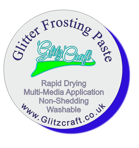 Silver Frosting Paste (50ml or 30ml Tub)