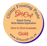 Gold Frosting Paste (50ml or 30ml Tub)