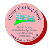 Cool Pink Frosting, Glitter Paste- Glitzcraft
