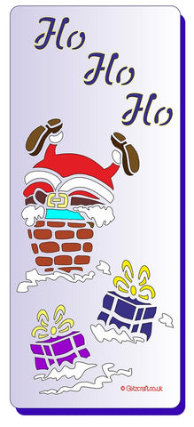 Santa in Chimney DL