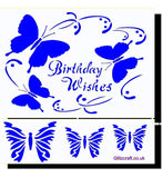 3D Birthday Wishes, 3D_Stencils- Glitzcraft