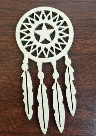 MDF Dream Catcher - 3 pcs