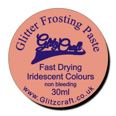 Coral Small Tub 30ml, Glitter Paste- Glitzcraft