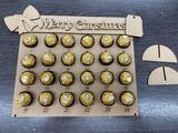 Ferrero Rocher Present / Gift Shape MDF Advent Calendar