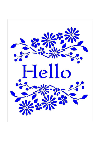 Floral Sentiments - Hello Flowers
