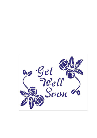 Floral Sentiments - Get Well Soon Roses
