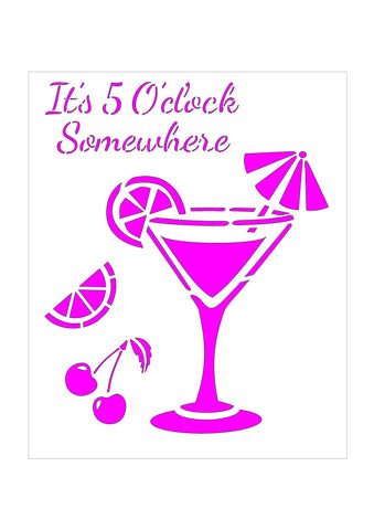 Cocktails - Its 5 O'Clock Somewhere