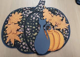 MDF Large Pumpkin and embellishments