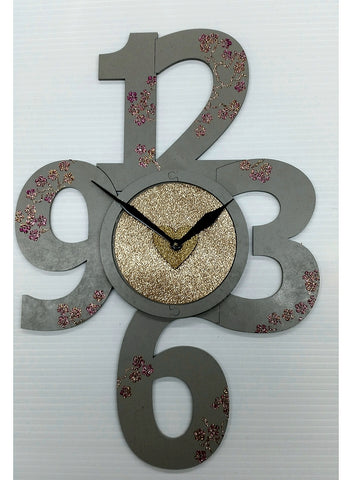 MDF Large Number CLock