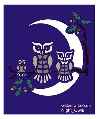 Night Owls Stencil