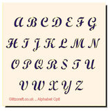 Alphabet of  the  Alphabet in uppercase letters  a-z