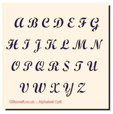 _Alphabet UP Case Stencil