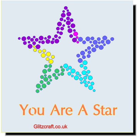 You're a Star Stencil