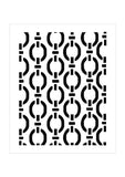 Background Stencil - Chain