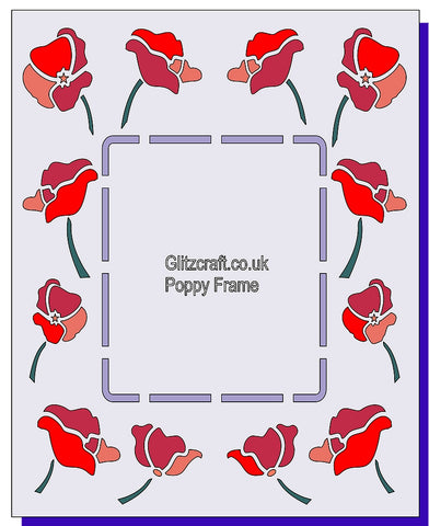 Poppy Frame Rectangular