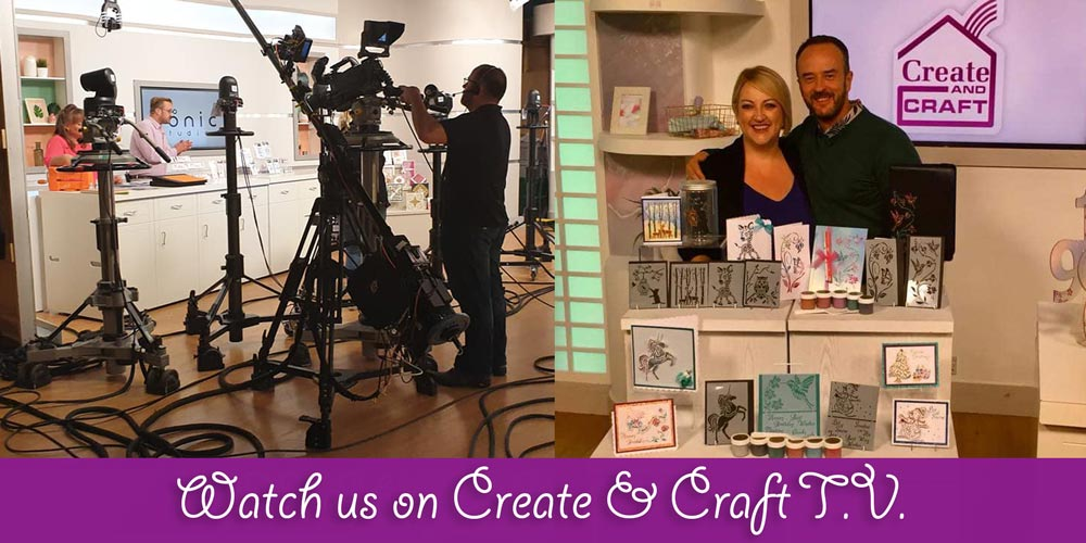Watch us on Create and Craft TV