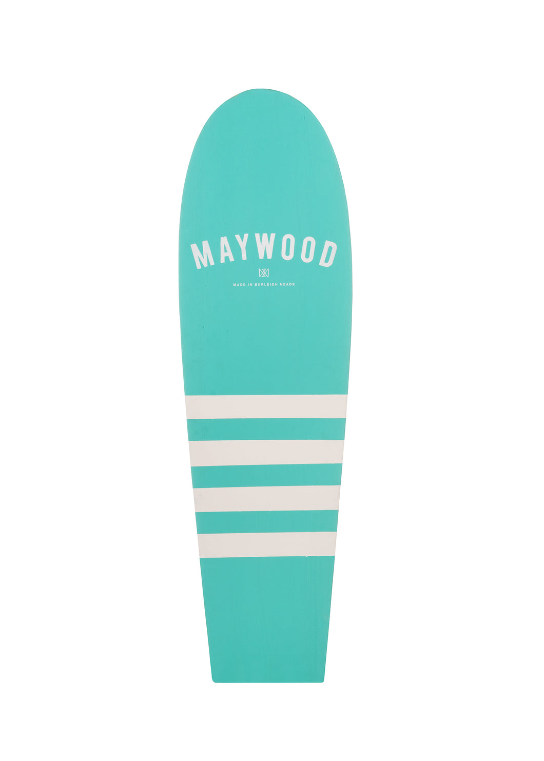 Grom Board Double Sided - 4'0 (Aqua Green/Natural)