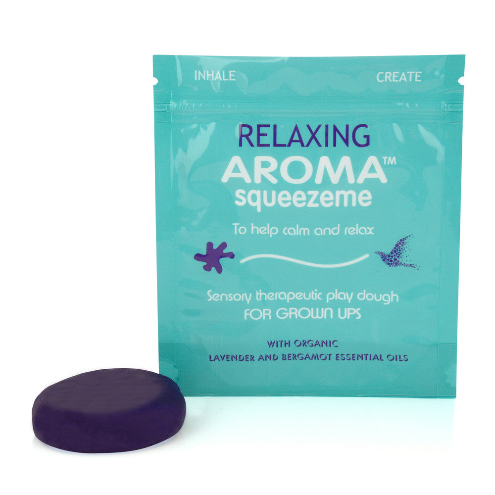 Aromatherapy Play Dough Relaxing with Lavender Essential Oils