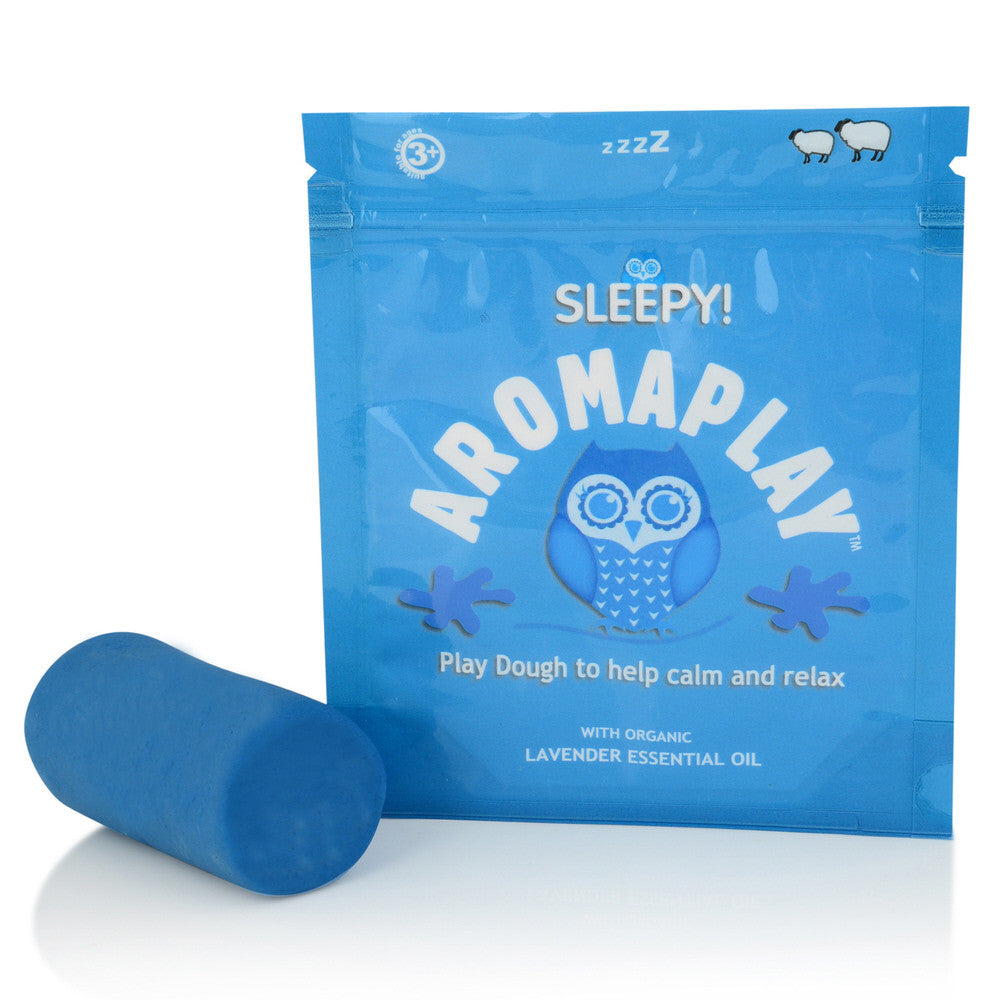 Aroma Play Dough Sleepy to help relaxation