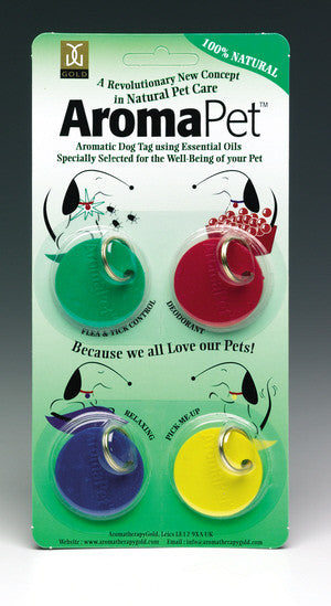 Aromatherapy Assorted Dog Tags