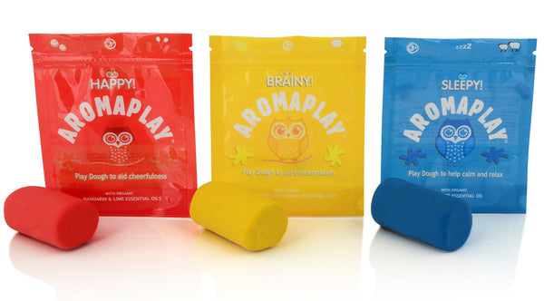 Aroma Play Dough Trio: Happy, Brainy and Sleepy