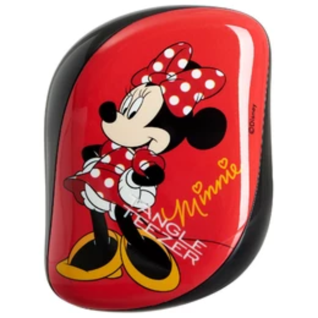 Tangle Teezer Compact Styler Minnie Mouse Rosie Red - Hiusharjat - Tangle Teezer - Ihanathiukset.fi