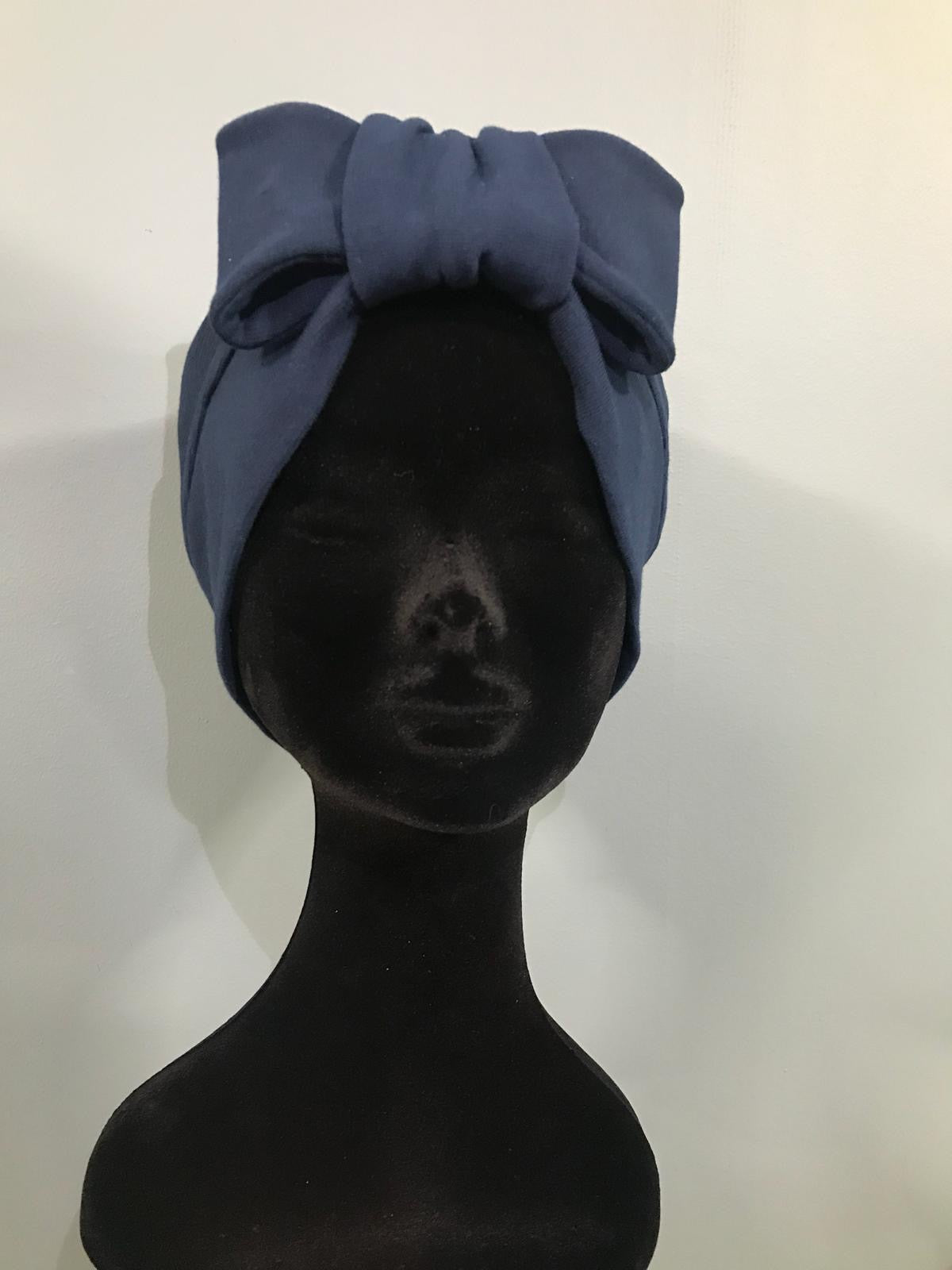 Turban Dark Blue