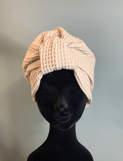 Sauna-Turban White
