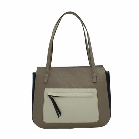 Bolso 17560 Tricolor Taupe