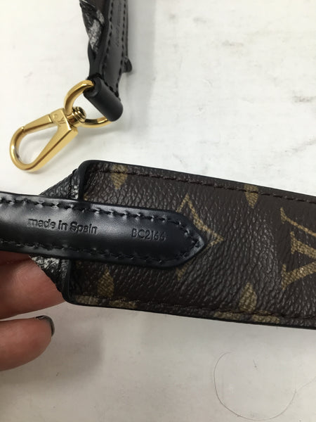 LOUIS VUITTON MONOGRAM ANIMAL BANDOULIERE SHOULDER STRAP