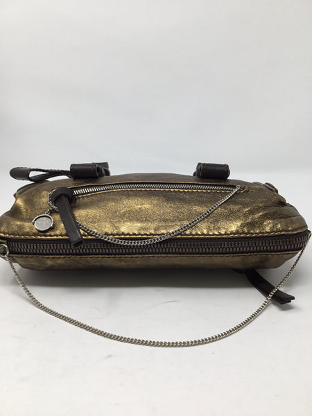 CHLOE METALLIC LEATHER BAG
