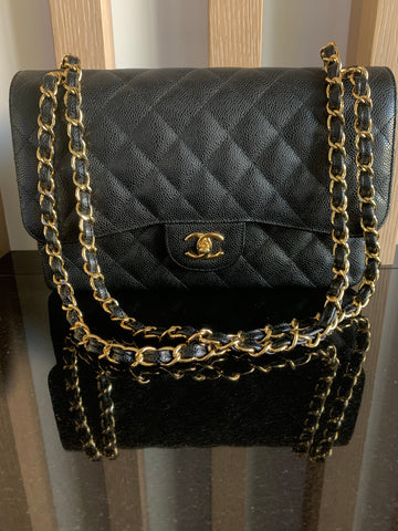 CHANEL JUMBO DOUBLE FLAP BAG