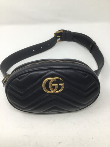 GUCCI SMALL MARMONT SMALL BELT BAG SIZE 75
