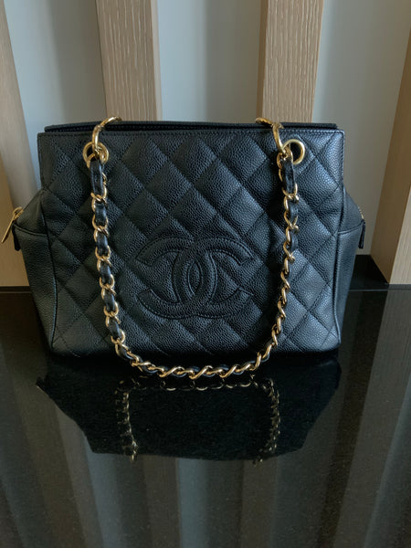 CHANEL VINTAGE TIMELESS SHOPPING TOTE