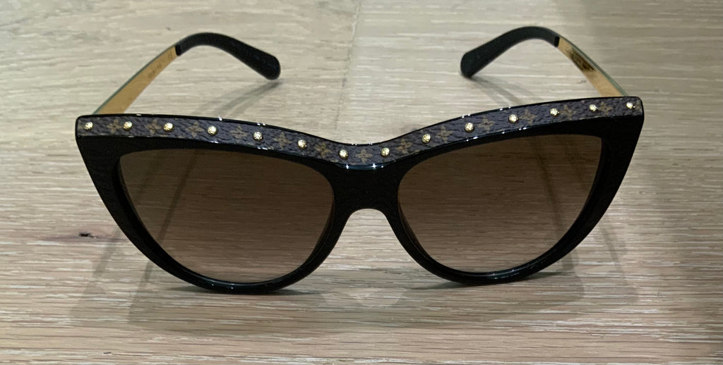 LOUIS VUITTON LA BOUM CANVAS SUNGLASSES