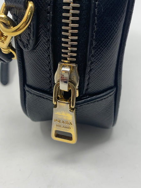 PRADA MINI SAFFIANO CAMERA CROSSBODY BAG