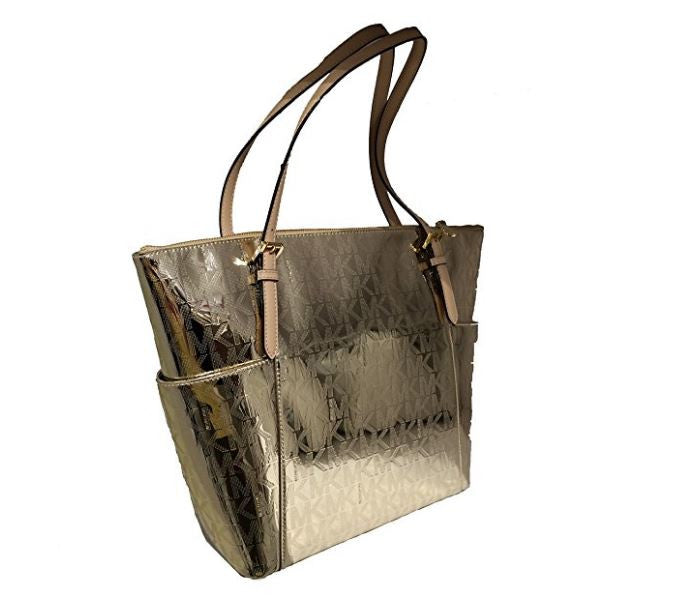 Michael Kors Jet Set Gold East West Mirror Metallic Tote Bag Giveaway
