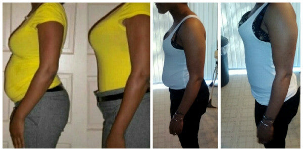 Her Daily Deal - Waist Training Before and After