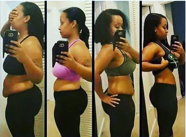 Before and After Results from Waist Training