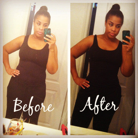 Waist Training Results Before and After