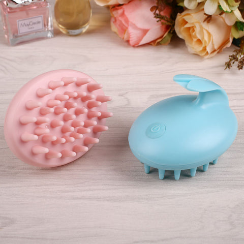Electric Scalp Massaging Shampoo Brush