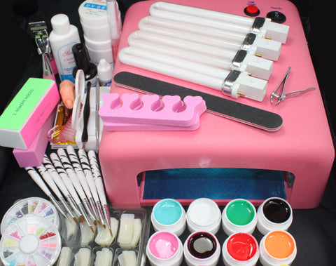 Full Kit DIY Nail Art Kit