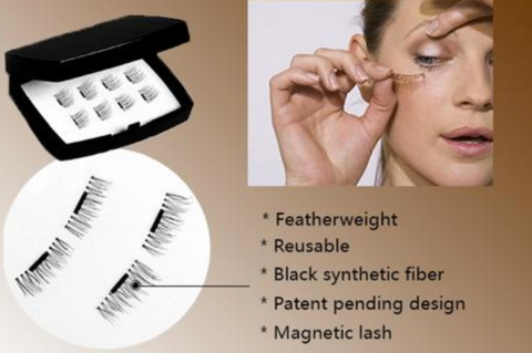 Super Easy Magnetic False Eyelashes -  60% OFF LIMITED TIME ONLY -