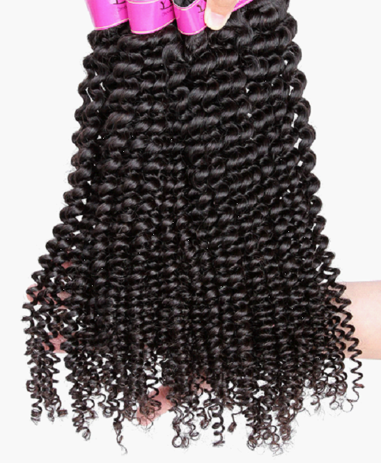 Brazilian Kinky Virgin Hair Weaves (Bundle of 3)