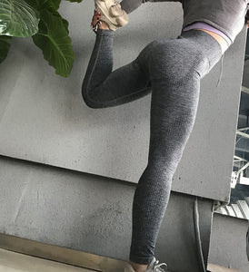 Olive Green High Waist Energy Seamless Yoga Leggings